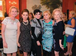 Pamela Morgan, Jean Shafiroff, Arlene Lazare, Wendy Federman, Jane Pontarelli