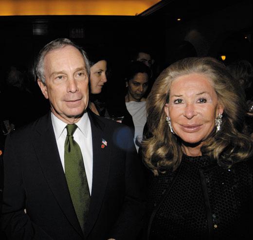 Michael Bloomberg and Elaine Sargent @ Daniel