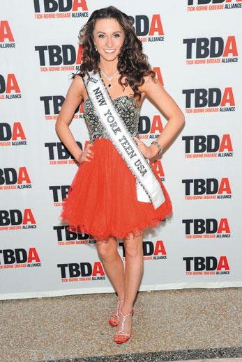 Miss NY Teen USA Corrin Stellakis @ TBDA Masquerade Gala