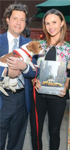 Herb Karlitz and Georgina Bloomberg @ Humane Society of NY