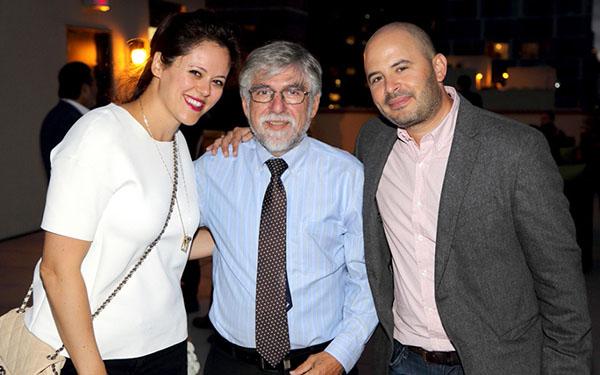 Pictured: (L to R) Yael Weiss, Karl Fischer (Karl Fischer Architect), Eli Weiss (Developer, YYY Third Avenue LLC)