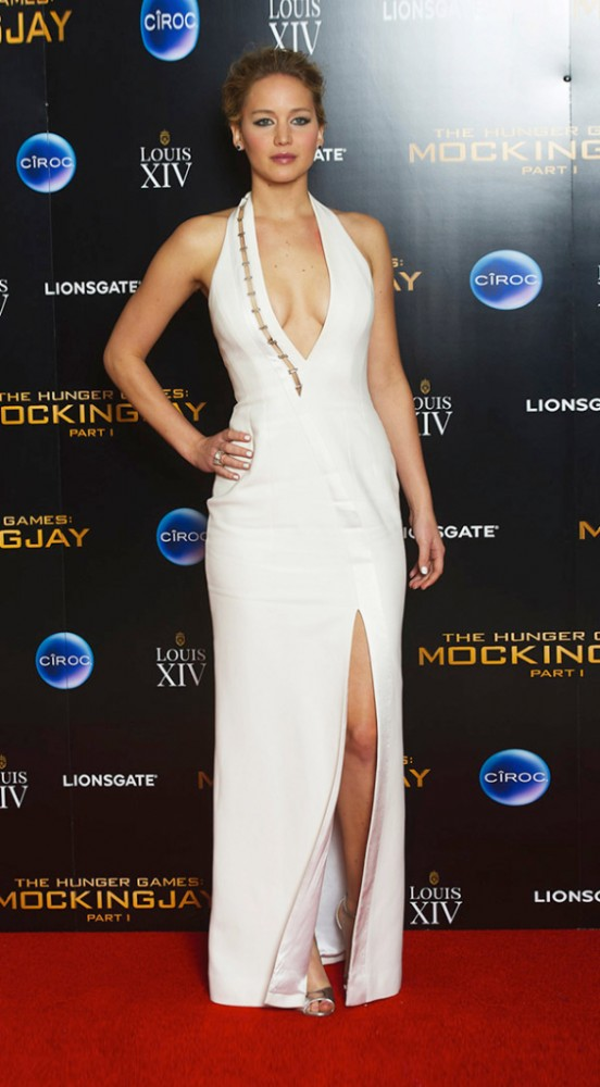 Jennifer Lawrence @ Mockingjay premiere