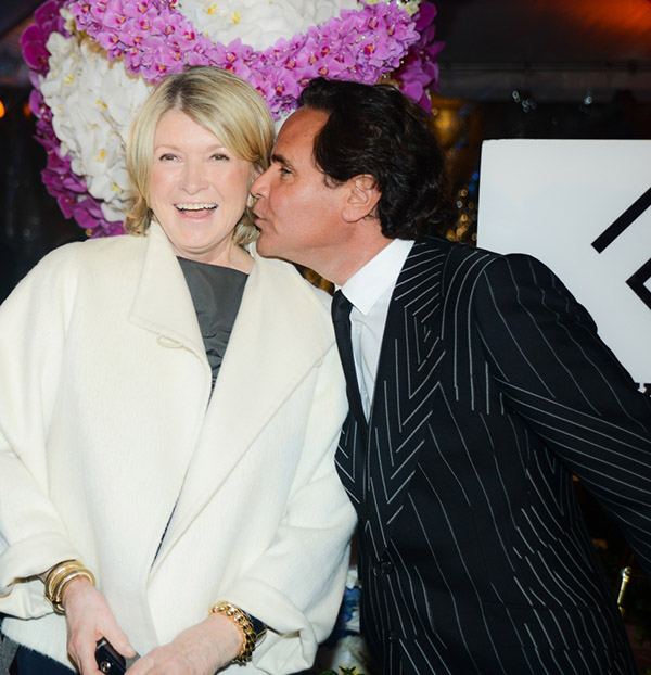 Martha Stewart & Tony Ingrao @ Kips Bay