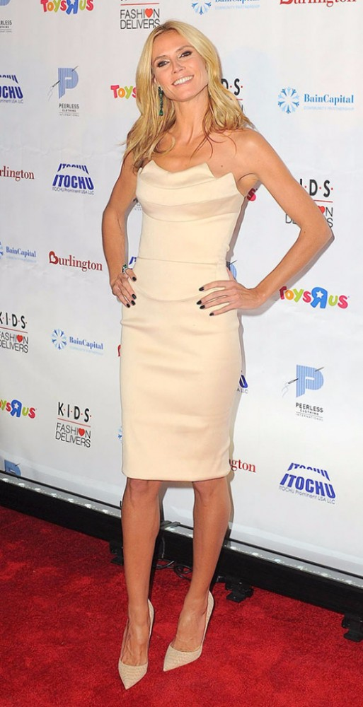 Heidi Klum The K.I.D.S./Fashion Delivers Gala at the American Museum of Natural History honored Heidi Klum