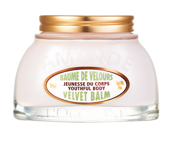 L'OCCITANE Almond Velvet Youthful Body Balm usa.loccitane.com $60