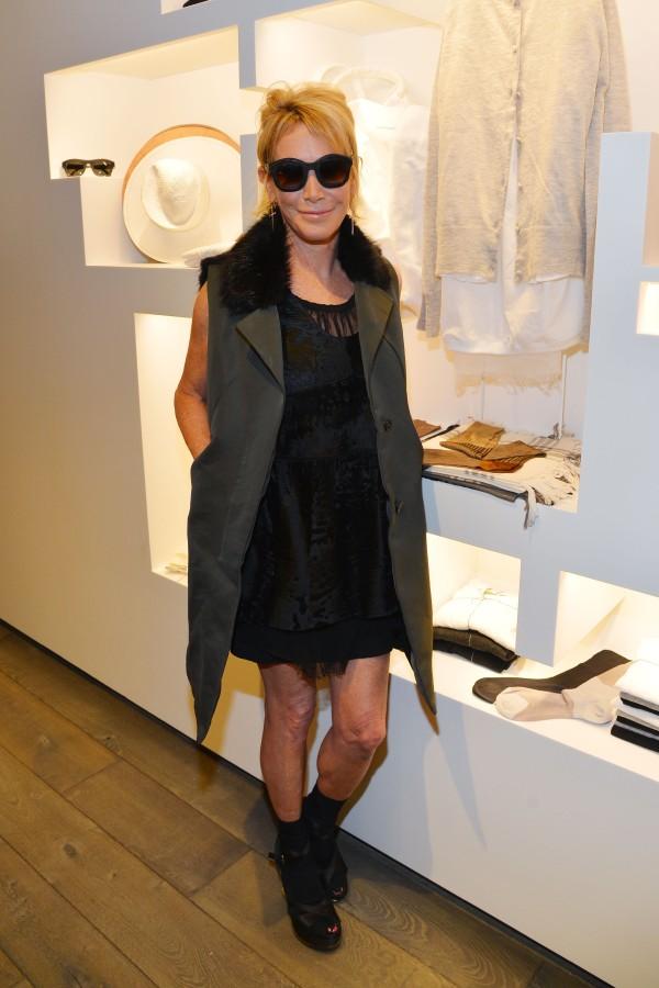 Lisa Jackson @ her Madison Avenue boutique