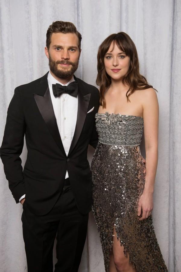 Jamie Dornan & Dakota Johnson @ Fifty Shades of Grey premiere