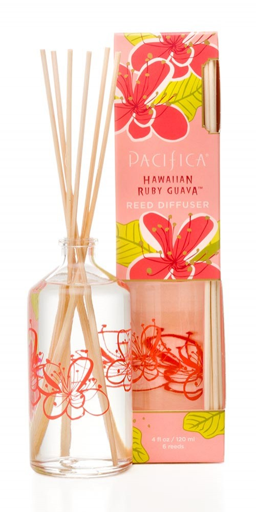 Pacifica Hawaiian Ruby Guava Reed Diffuser pacificabeauty.com $16