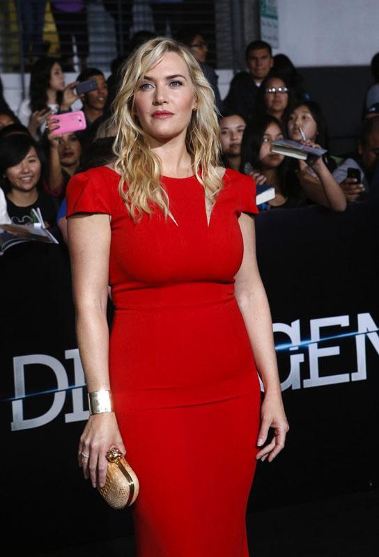 Kate Winslet @ Insurgent premiere