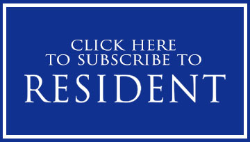 Subscribe to Resident button
