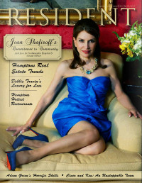 Resident magazine Hamptons issue June 2013