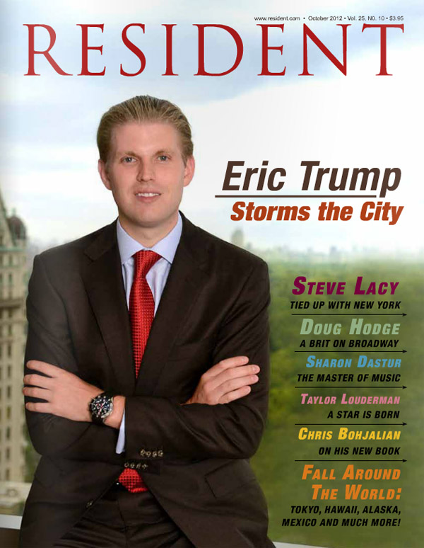 Resident magazine issue October 2012