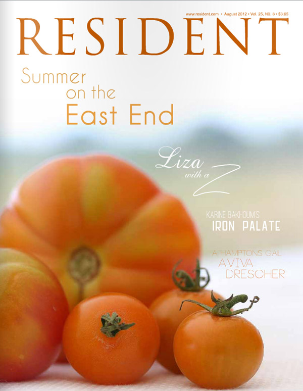 Resident magazine Hamptons issue August 2012