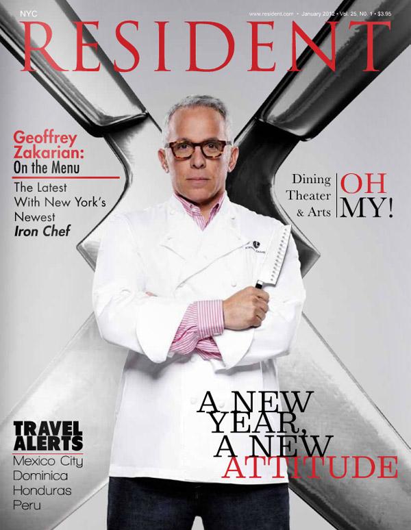 Resident magazine issue January 2012