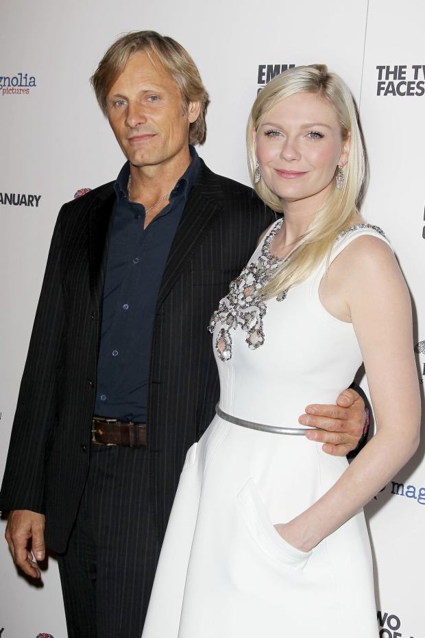 "- New York, NY 9/17/14 - Derek Blasberg, Kate & Laura Mulleavy host the NYC Premiere of ""THE TWO FACES OF JANUARY"". -PICTURED: Kirsten Dunst and Viggo Mortensen -PHOTO by: Amanda Schwab/Startraksphoto.com -AMR_14_8972948 -Landmark Sunshine Theatre Startraks Photo New York, NY For licensing please call 212-414-9464 or email sales@startraksphoto.com"