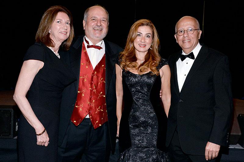 Augusta Salama, Dr.Raymond Schinazi, Nadira Mansour, Yves Salama
