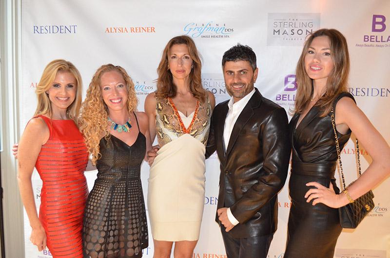 Melissa Kassis, Pamela Jacobs, Alysia Reiner, Lewaa , and Olga of Jitrois