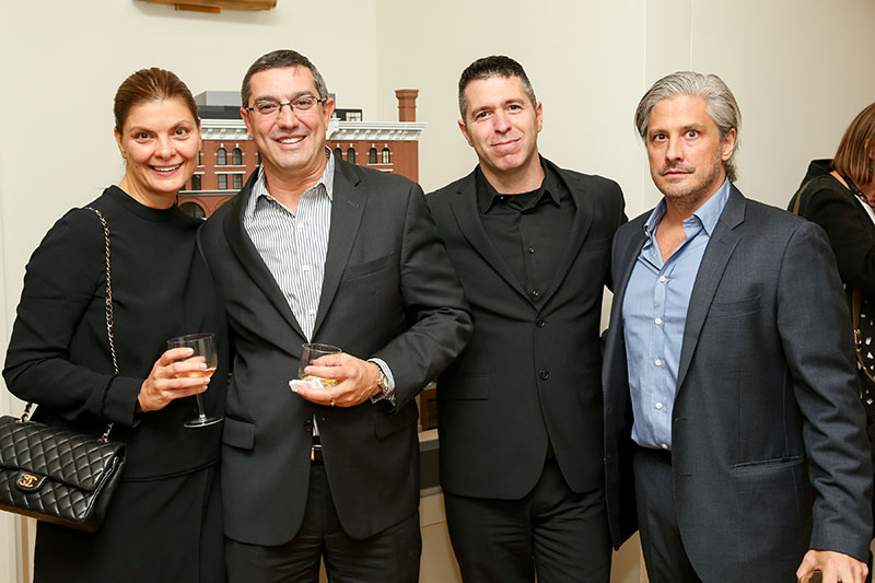 L to R - Christine Gachot - Gachot Studios/ Carlos Cardoza - Beyer, Blinder, and Belle/ Dory Goudsmit - The Naftali Group/ John Gachot - Gachot Studios
