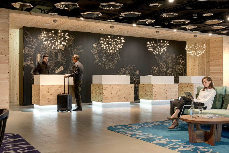 Zurich - Swissotel Lobby