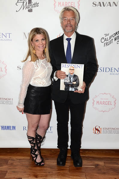 Resident Magazine April Cover Party Honoring Harry Hamlin