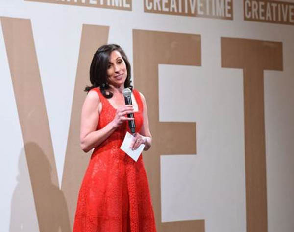 Katie Hollander at the Creative Time 2016 Spring Gala Presented by Bombay Sapphire Gin