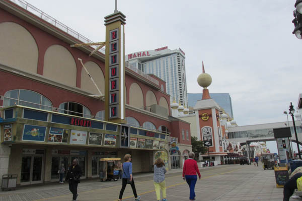 Boardwalk Toward Steel Pier