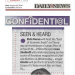 Resident Mention in the Daily News