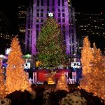 ROCKAFELLER TREE LIGHTS UP THE CITY