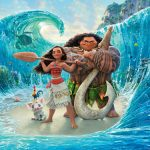 DISNEY'S MOANA RIDES THE BIG WAVES