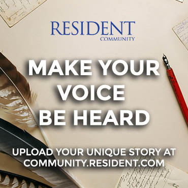 Make your voice be heard at the Resident community site