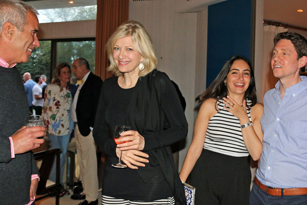 Diane Sawyer Sips Fleurs De Prairie At The Launch Party For Cristina Cuomo S Purist Magazine In Southhampton Photo By Heather Whelon