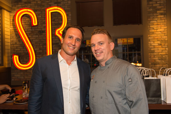 Ryan Esko, Chef Adam Beairsto