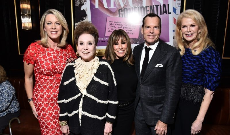 The Spirit Of Joan Rivers Was Alive And Well Last Night When A Crew Quintessential New Yorkers Came Out To Celebrate Launch