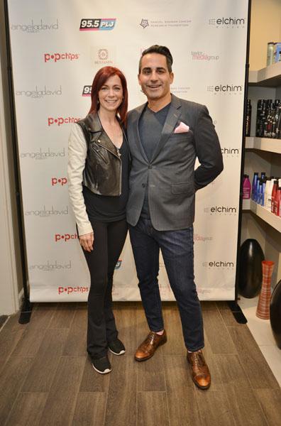 Carrie Preston and Angelo David Pisacreta