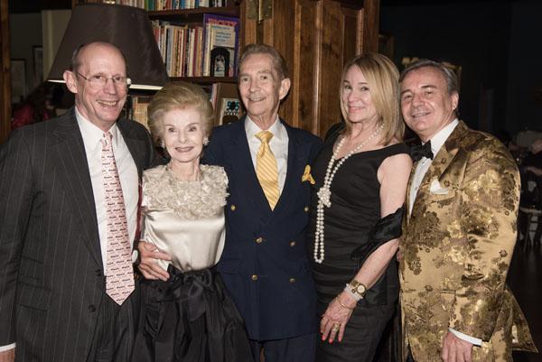 7_Gerald Gehman, Nancy Gehman, Jay Paul, Martha Talton, Franck Laverdin_Photo Credit Annie Watt