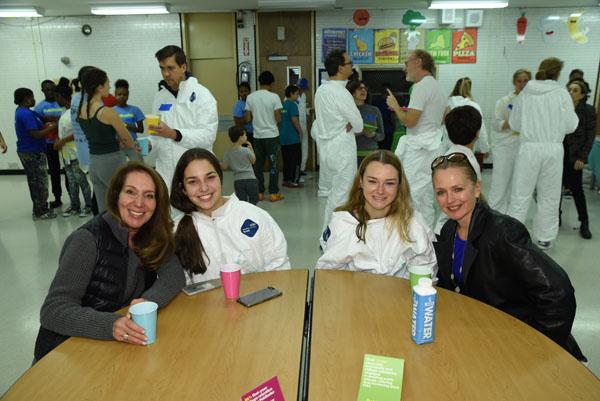 DSC_4896 Cheryl Breitkopf, Natalie Breitkopf, Ella Saenger, Maryellen Saenger