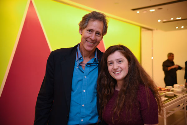 Milly Co-Founder Andy Oshrin and Artist Collaborator Sarah Meyohas