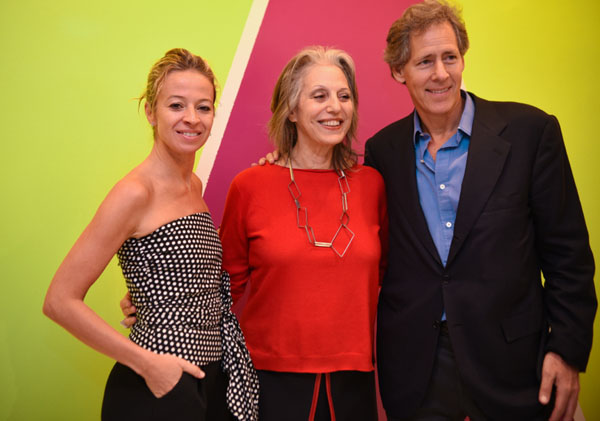 Milly Co-Founders Michelle Smith and Andy Oshrin celebrated the event's success with Publicolor Founder and President Ruth Shuman