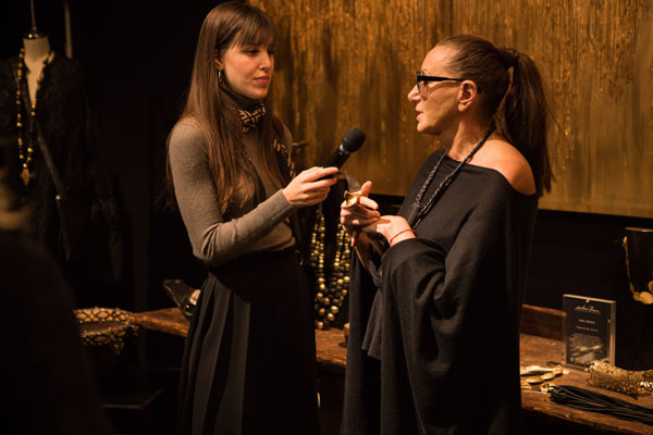 Rania Habegger & Donna Karan