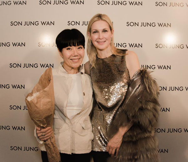 Son Jung Wan, Kelly Rutherford
