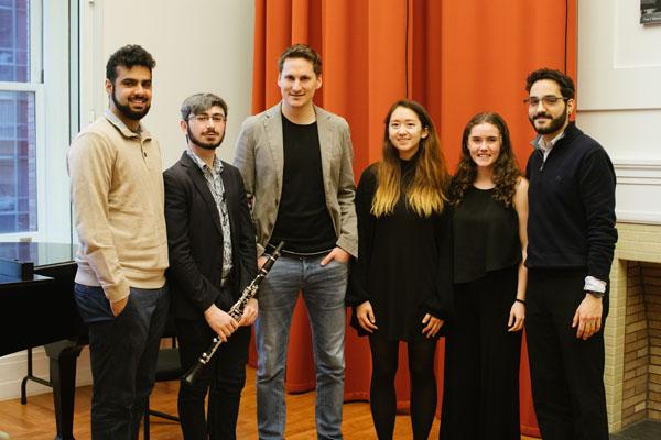 2.22.18 VPS Clarinet Master Class Carnegie Hall Jay Shankar, Phillip Solomon, Daniel Ottensamer, Sara Han, Katia Waxman, Amer Hasan