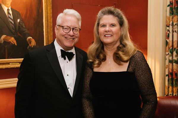Dean and Ellen Wolfe (not on guest list)