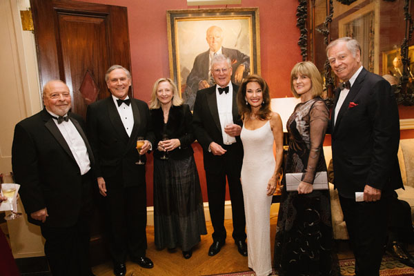 Nelson and Sandy DeMille, John Macaskill, Elizabeth and John Ingelby, Hulmut and Susan Huber
