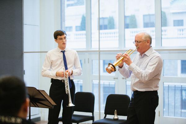 2.22.18 VPS Master Classes James Vaughn, Peter Schuh at Carnegie Hall