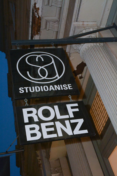 Studio AniseRolf Benz sign