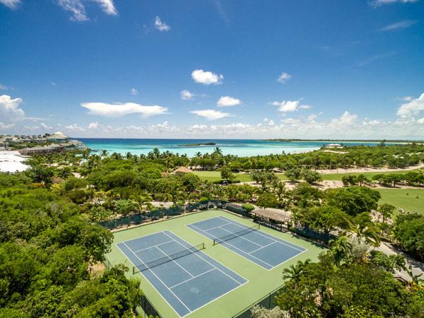 Abaco-Club-Tennis-Aerial
