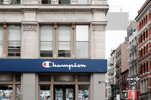 champion athleticwear debuts new retail store in new york city the