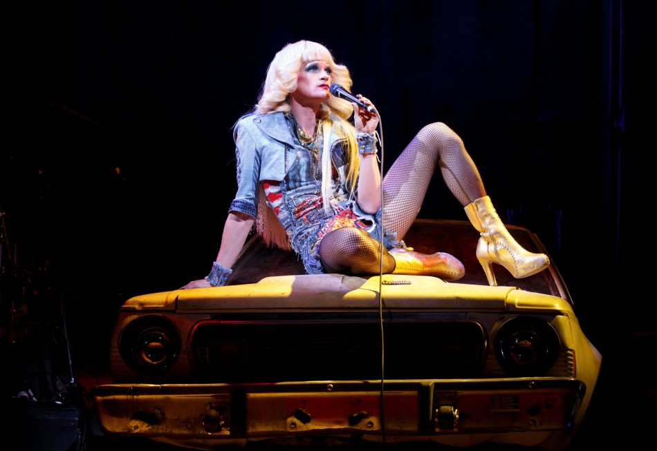 Harris as Hedwig/Photograph: Joan Marcus