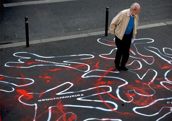 #sisiwarcrimes, Paris, Sampsa