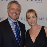 Resident Magazine October 2014 Cover Party: Dr. Steven Pearlman, Donna Graziano ©James Edstrom